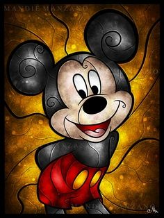 mickey mouse  I LOVE MICKEY MOUSE!  :)