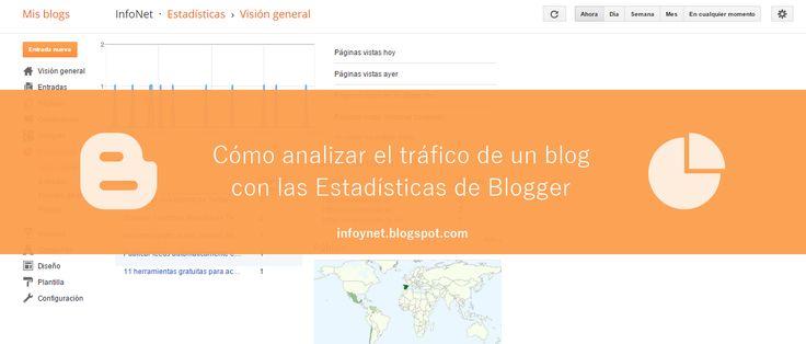Cómo analizar el tráfico de un blog con las Estadísticas de Blogger