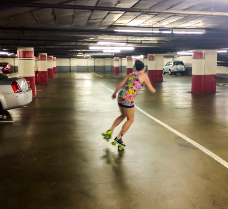 7 things you can do on skates that will make you a better derby player. Coach Lindsay's favorite - car park skating!