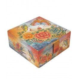 Binedispune-ti sefa cu un cadou de Sf. Maria in culorile verii tarzii, o cutie ceasuri din piele, Anuschka