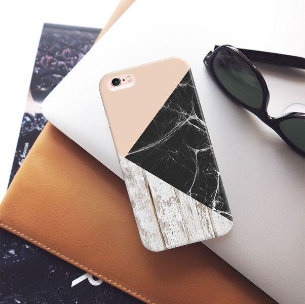 Handytaschen - Holz iPhone,Samsung Galaxy Geometrisch Hüllen - ein Designerstück von iwantcase bei DaWanda