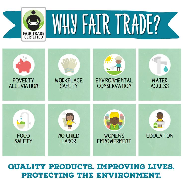 Have you heard about the 8 ways #FairTrade improves lives around the world? Share this graphic to tell your friends why every purchase matters! http://BeFair.org/ #BeFair