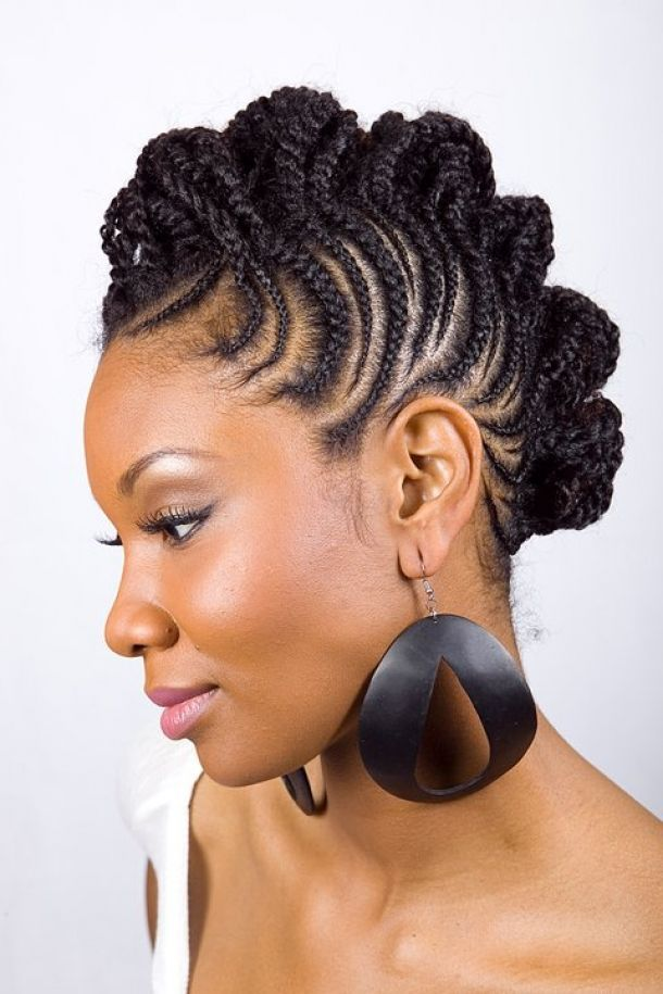 Braids Hairstyles For Black Women Pictures Home Braided Hairstyle Braid Hairstyles For Black Wo Natural Hair Styles Hair Styles Short Natural Hair Styles