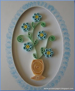 simple #quilled card by Kiddo
