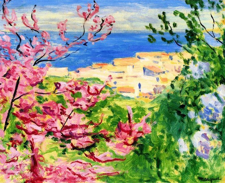 The Pink Tree ~ Albert Marquet