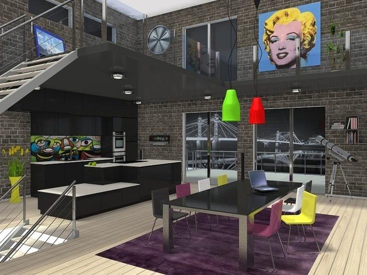 28 best room sketchers images on pinterest create floor for Build dream home online for fun