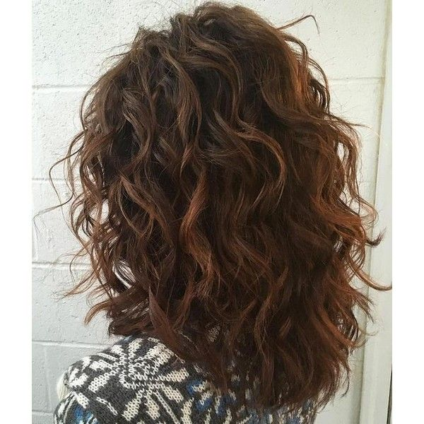 50 Most Magnetizing Hairstyles for Thick Wavy Hair ❤ liked on Polyvore featuring hair