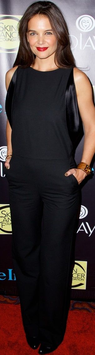 Katie Holmes In Maison Martin Margiela – 2014 Skin Cancer Foundation Gala