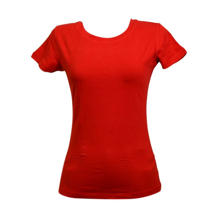 Ankor East - Women's Crew Neck 95/5 160Gsm T-Shirt - Red