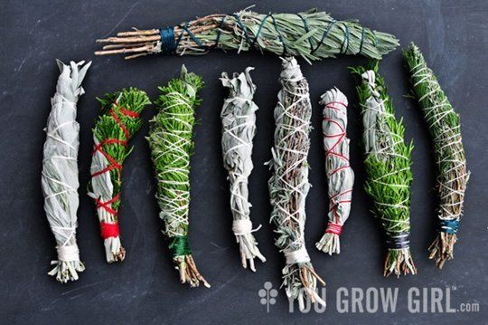 DIY Herbal Smudge Sticks & Fire Starters | Apartment Therapy
