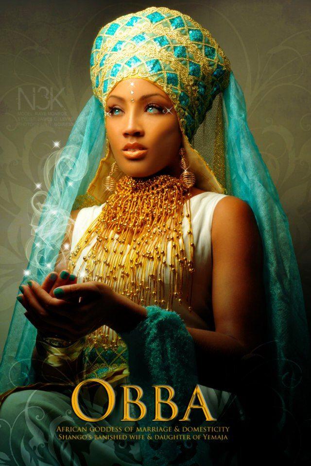 African Goddess Of Love | and Santarian Goddess of the River, Daughter of Yemaja[Mother Goddess ...