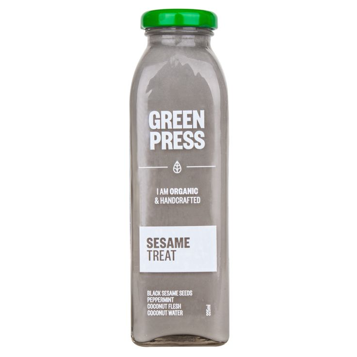 Black Sesame Seeds Coconut Water Coconut Meat Organic Nut Milk and Cold Pressed Juice Melbourne Cleanse. greenpress.com