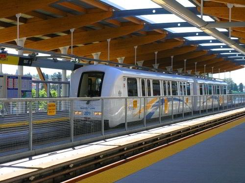 SkyTrain - Public transport in Vancouver / getting around the city: Skytrain is…