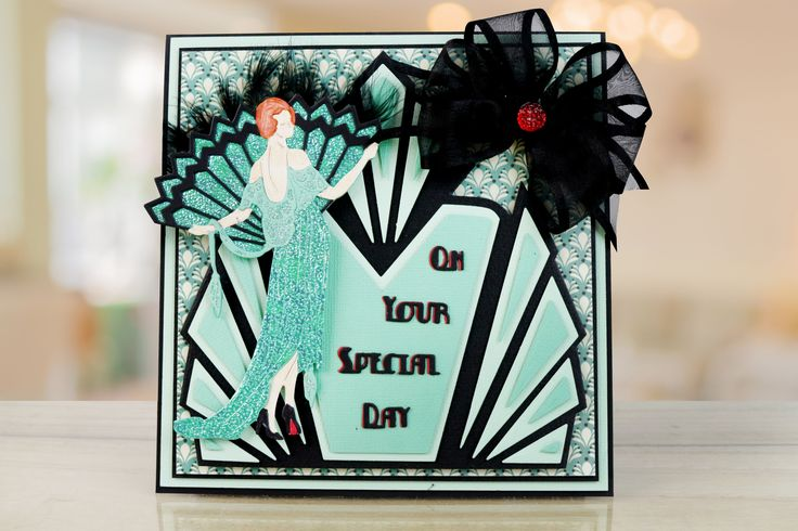 Iconic Art Deco Shapes by Tattered Lace. For more information visit: www.tatteredlace.co.uk