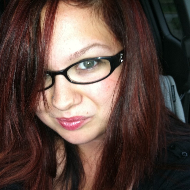 Black and red hair: Red Hair