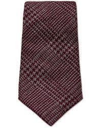 turnbull asser Slim Mixed Dogtooth Tie in Wine and Cream - Cerca con Google