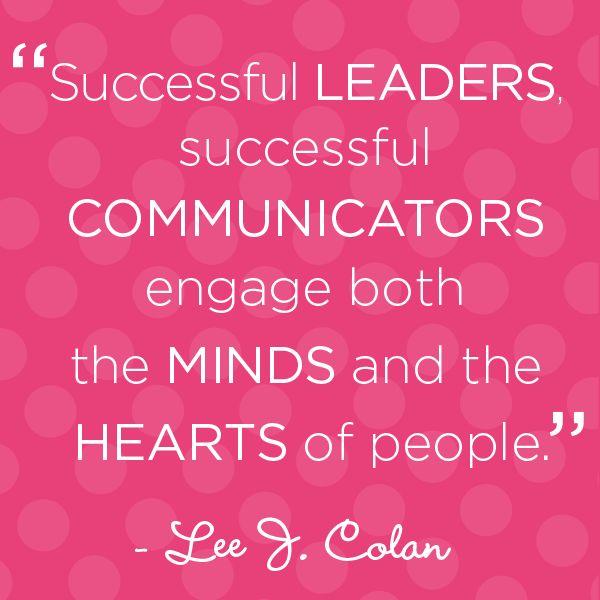Good Communication Skills Quotes: Leadership Communication Quotes. QuotesGram
