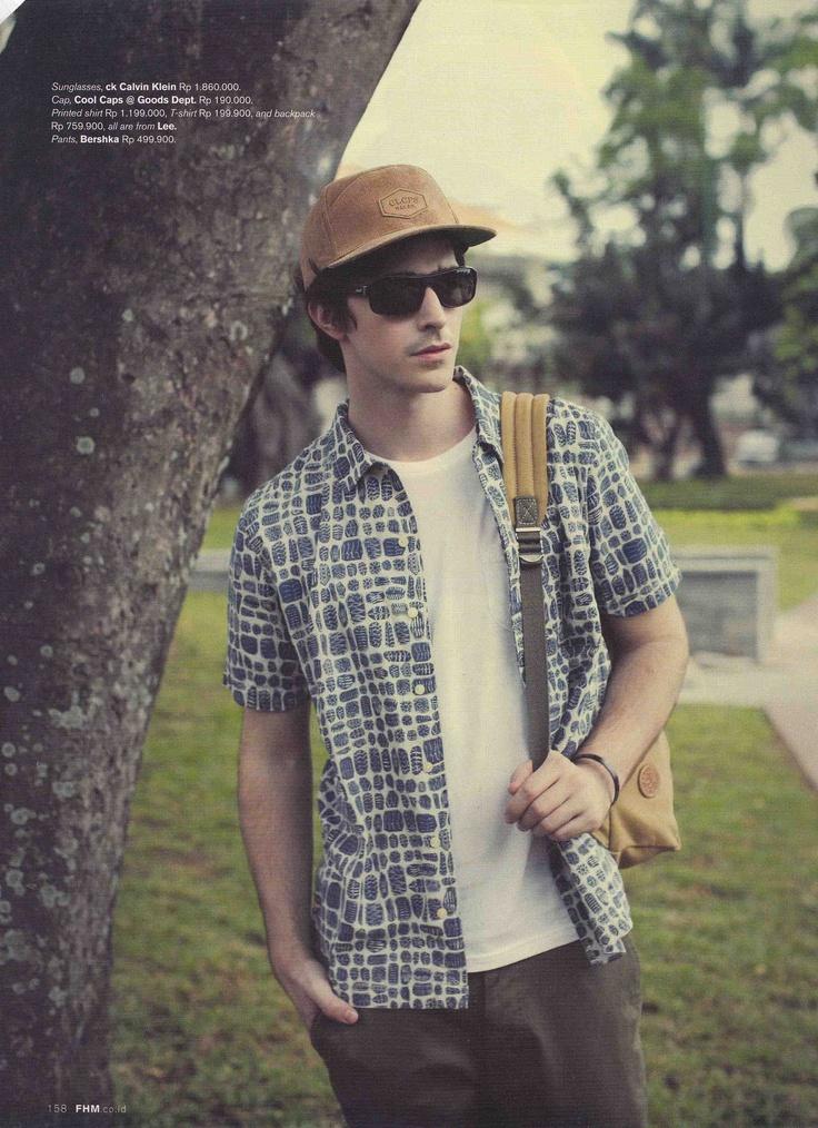 Sunglasses: cK Calvin Clein    (Source: FHM Magazine)