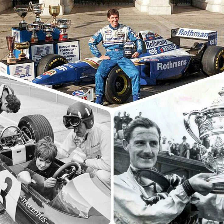 On This Day In F1 ~  Like Father, Like Son. Damon Hill became Formula 1's first second generation World Drivers Champion when he piloted his Williams F1 car to victory at the Japanese Grand Prix on October 13, 1996.  Hill followed in his dad Grahm Hill's footsteps, who took championships in 1962 and 1968. #F1 #Formula1 #JapaneseGrandPrix #DamonHill #WilliamsF1 #GrahamHill