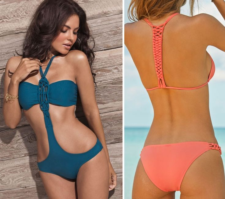 First fashion designer bikini