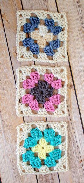 Crochet Granny Square Pattern More