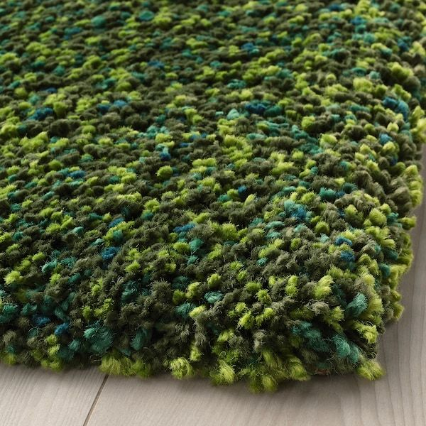 Vindum Rug High Pile Green 4 X5