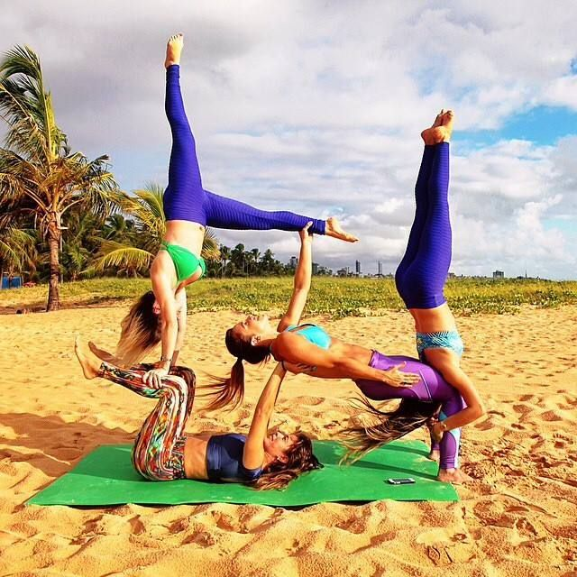 AcroYoga with friends