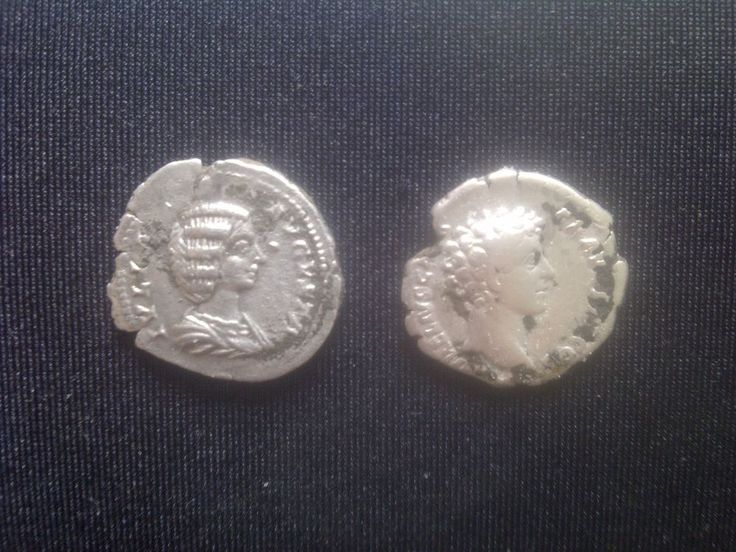 Roman Silver Denarius Julia Avgusta-Markus Aurelijus.