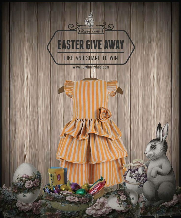 Don´t miss out on our Easter Giveaway. Join in here -> http://on.fb.me/1eyl1GY