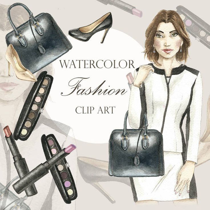 Brunette Woman clip art with business casual attire, Legal Clip Art, Fashion Illustration, Office Clipart, Girl Boss Clipart by BringMeTheMoonlight on Etsy