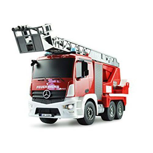 Camión de bomberos Mercedes Benz RC teledirigido 1:20 ⋆ Etoytronic⚡️