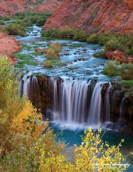 Havasu Creek waterfall