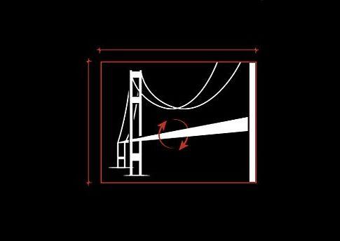 Tacoma Narrows Bridge: Bir doğal afete daha kurban giden yapıdır Tacoma Narrows Bridge. Mimarın aklına gelmemiş olsa gerek kasırga etkisi...
