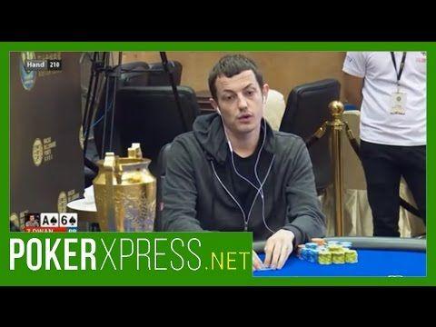 Tom Dwan at the 2017 Macau Billionaire Poker Super High Roller Event!