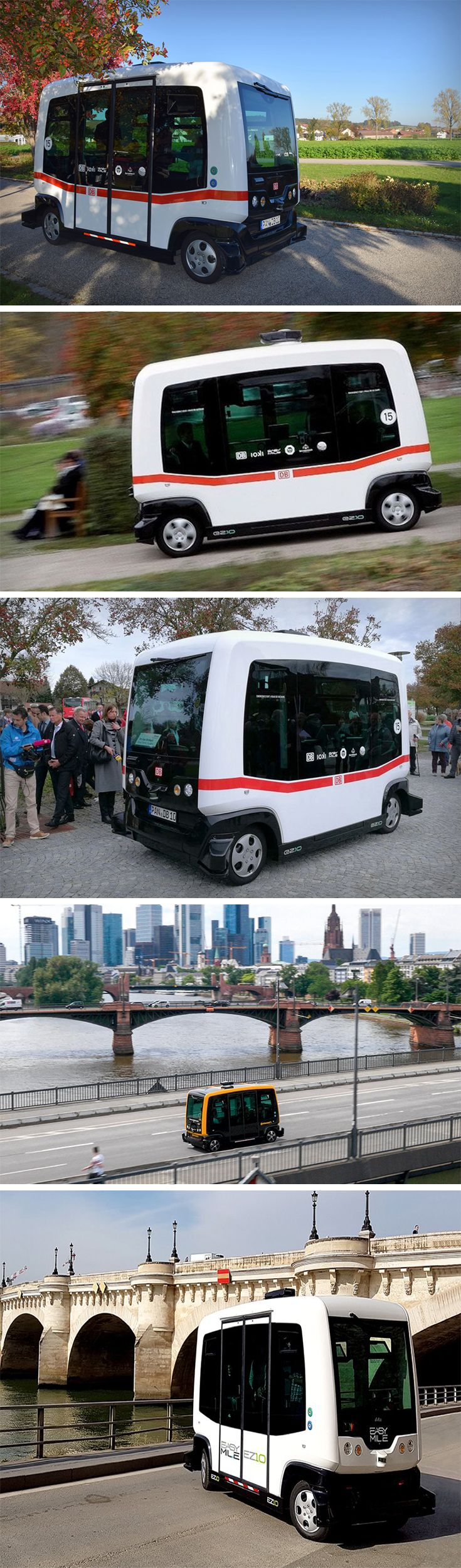 German transport company Deutsche Bahn trialed their first ever self-driving public bus. Given the task of commuting from the train station to the town center in Bavaria, EastTen traveled the 700-meter journey with ease. Designed by French company EasyMile, this autonomous vehicle is loaded with sensors, lasers, and a GPS system to help get the folks of Bavaria around safely.