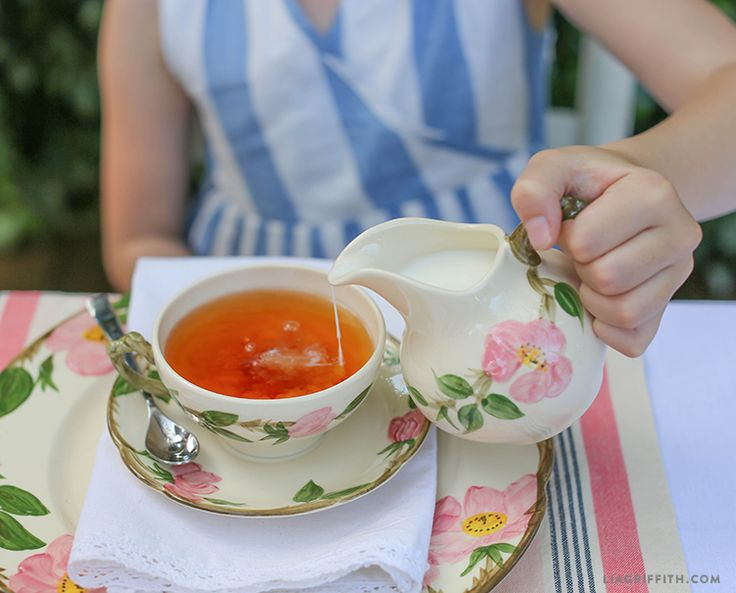 Host your own High Tea and learn how to make the perfect cup of tea with these simple tips from handcrafted lifestyle expert Lia Griffith.