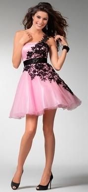 Mini Prom Dress 2012