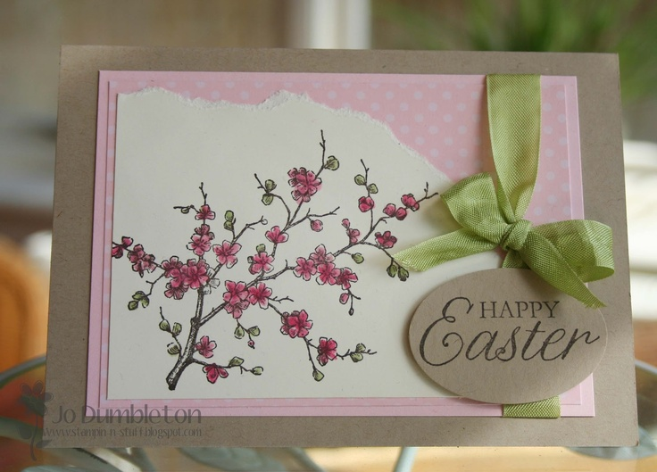 Stampin 'n Stuff: Easter Blossom