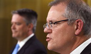 2015: Scott Morrison encourages states to let private sector run schools and hospitals