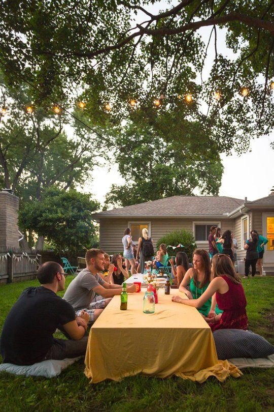 backyard s 39 mores party sushi party picnics and party at
