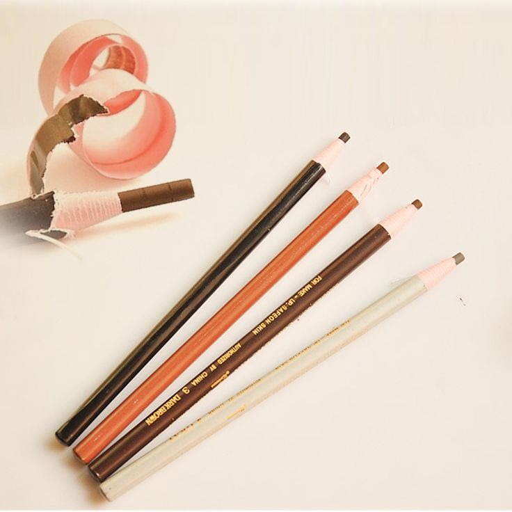 1 pc Eyebrow Pencil Professional Waterproof Eye Brow Pencil Eye Pen Natural Eyebrow Enhancer Beauty Cosmetics Make Up Tool A2