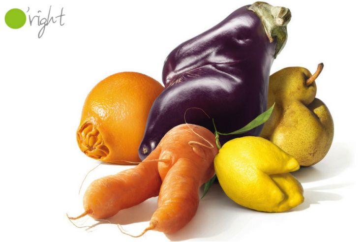Fructele şi legumele în forme neatractive sunt perfect normale. Iar dacă noi nu le cumpărăm, mare parte dintre ele ajung la gunoi ori se strică şi sunt aruncate oricum. Cumpărându-le, contribuim la reducerea irosirii de alimente şi punem preţ pe munca şi efortul celor care le-au produs.