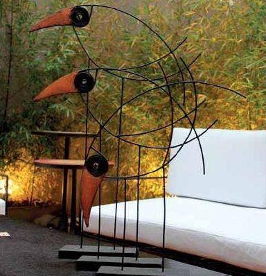 Dale a tu Living un Toque Diferente con Diseño Argentino : Tucan Alto (Hierro…