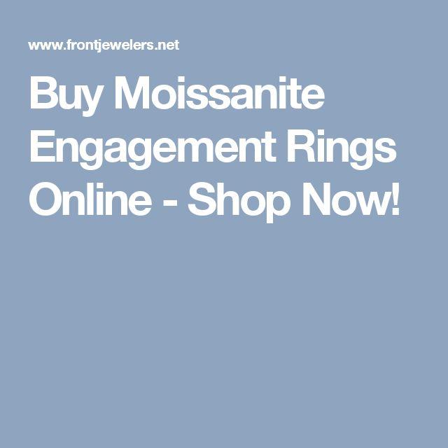 Buy Moissanite Engagement Rings Online - Shop Now!