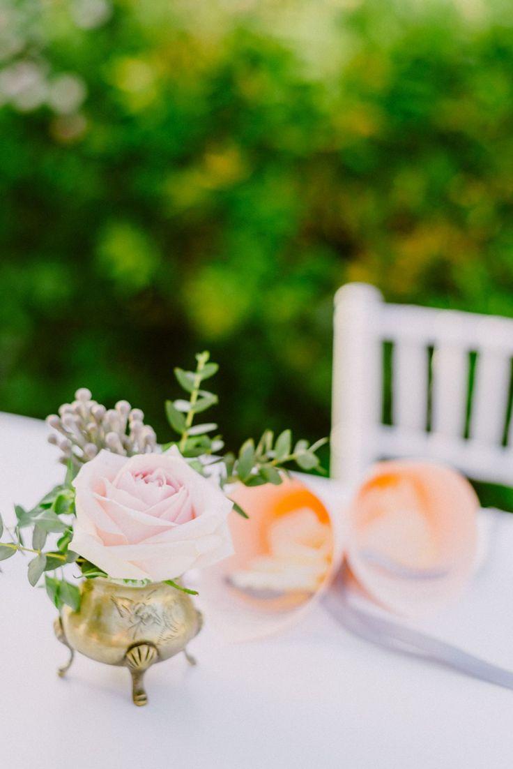 Blush and gold wedding decor | blush wedding flowers | Lebanese Wedding Athenian Riviera | Elegant Wedding | Luxury Weddings | Greek Island Weddings | Destination Wedding