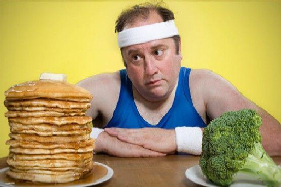 Правильное питание для похудения мужчин