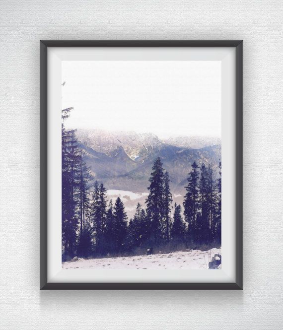 Tatry Mountain  Variation 3 by AustinGFarmer on Etsy- amazing art work.