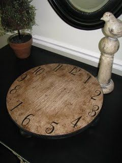 would love to do this on my lazy susan