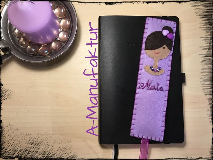 Maria, did you know that a have beautiful name? This is a bookmark felt for Maria. Follow me for a more felt decorations! By A-Manufaktur ❤️