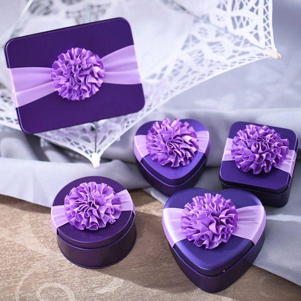 Креативные свадебные конфеты коробка коробки конфеты венчания коробки подарка Европейский конфеты коробка олова конфеты упаковывая